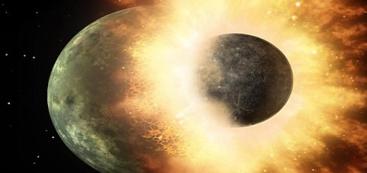 New research on Lunar Rocks prove that earth is a result of two Planets. We are living on an earth within an Earth!