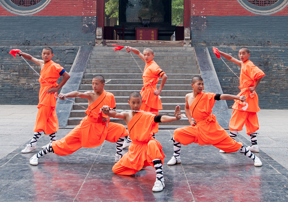 Shaolin Monks Inspire To The Hilt