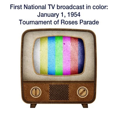 The breakthrough: Color television