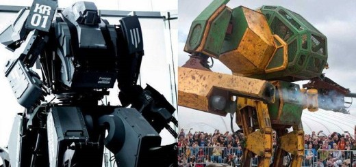 Amazing! World's first giant robot fight is happening in June!!