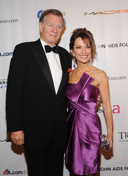 Helmut Huber and Susan Lucci (married in 1969)