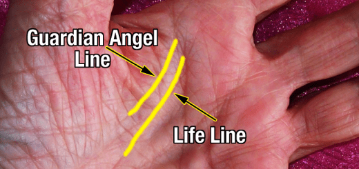 If you have a guardian angel line on your palm, then you're extremely special!
