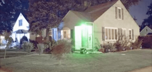 If you see a green light at the front door of a house, you need to know this
