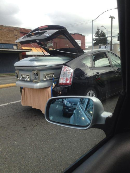 Makeshift Hearse