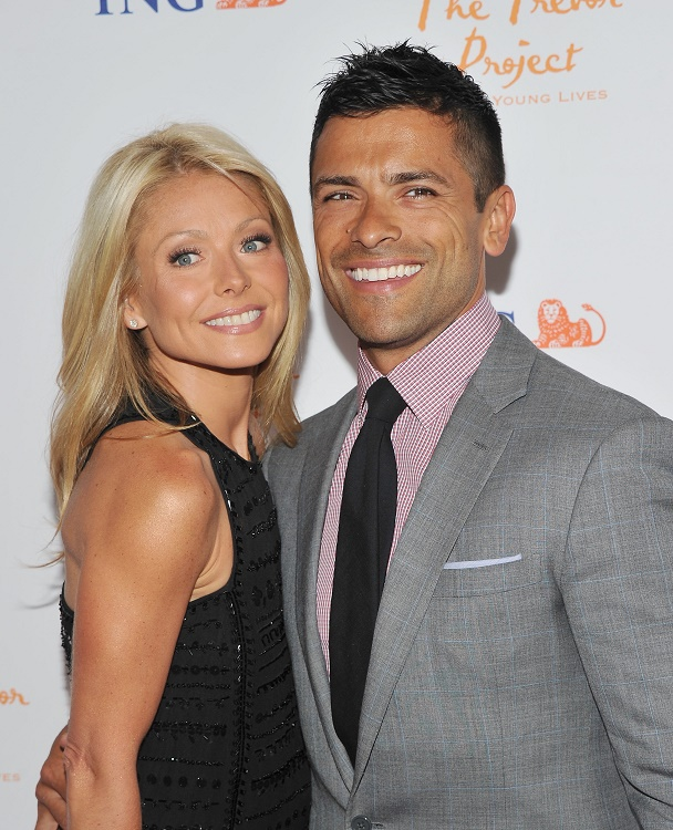 Mark Consuelos and Kelly Ripa (married in 1996)