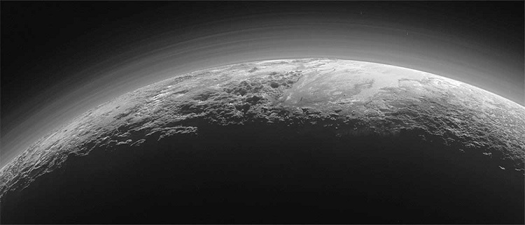 Pluto with clouds- is it really true?