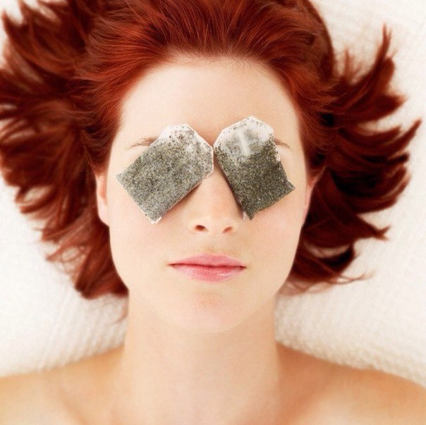 Use Teabags for Puffy eyes