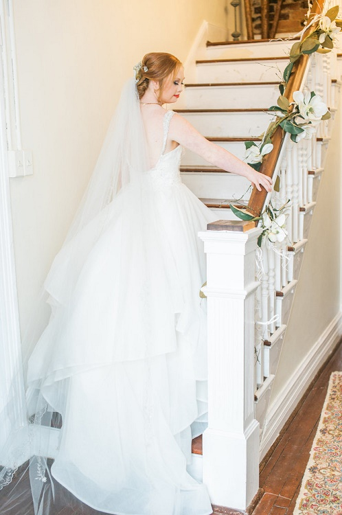 The idea behind this breathtaking bridal photo shoot!
