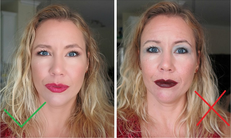 how to look older than you are with makeup