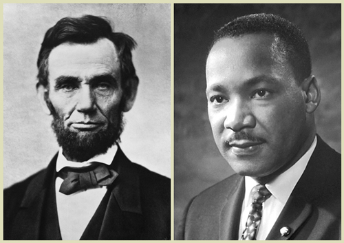Assassinations of Abraham Lincoln and Martin Luther King