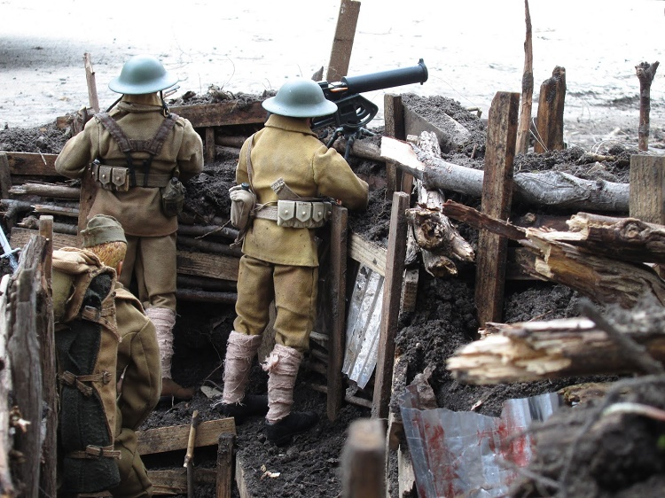 In World War 1 Some French Soldiers Still Fought In Heavy Colored Tunics