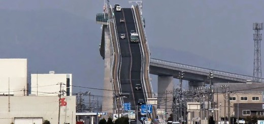 Japan has terrifying roller coaster bridge which make you wonder, is Japan crazy?