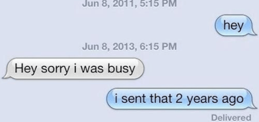 These 8 people had the best response for ignored text messages
