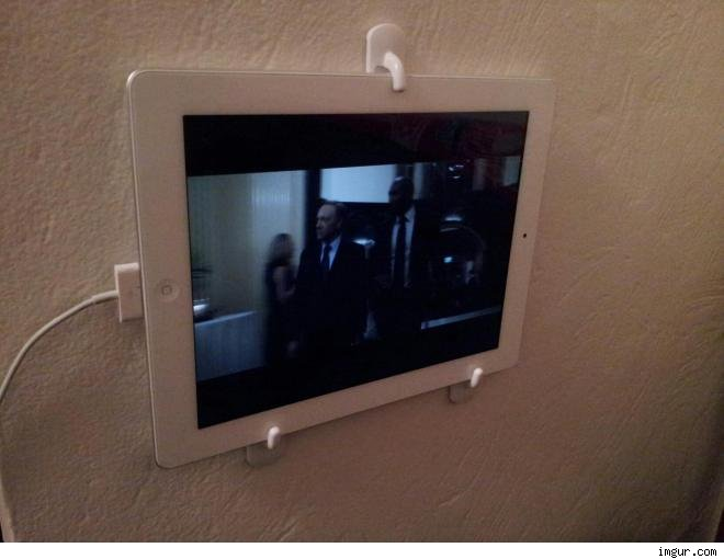 iPad for a rich movie watching experience.