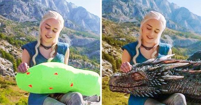 Game of Thrones – The dragons