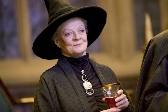 Prof. McGonagall was once a married witch