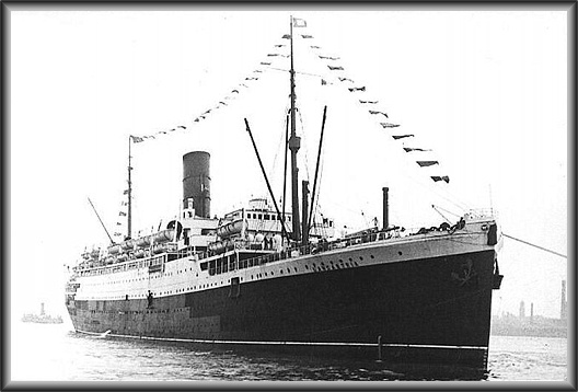 The RMS Lancastria 1940