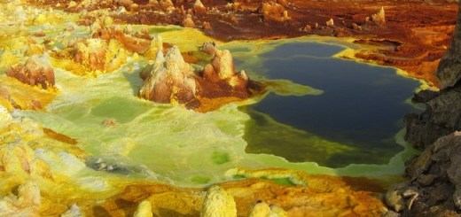 The hottest place on earth that looks like another alien world