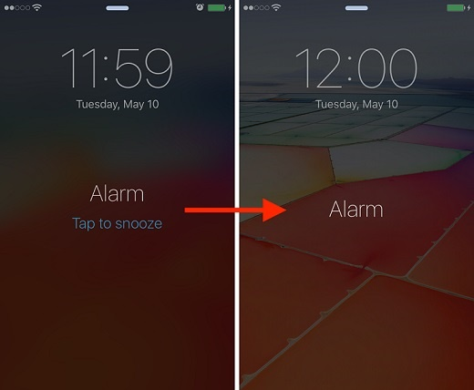 Why the iPhone alarm clock snoozes for 9