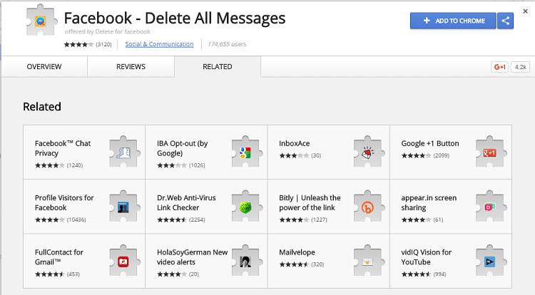 trick to delete all messages at once