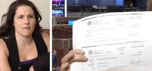 Desperate mom gets a job, but on payday she notices her pay check is void