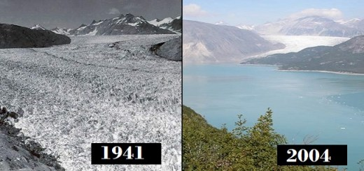 Drastic photo comparisons to show how our Planet is changing and we should be concerned