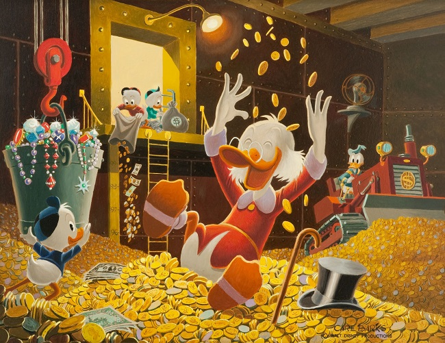 Duck Tales and magic coin