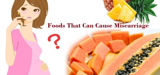 Foods that cause Miscarriage and why you should avoid them