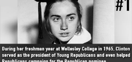 12 little known facts about America's first female presidential nominee, Hillary Clinton