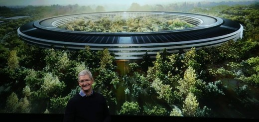 Apple's new campus is so huge that it looks like a giant spaceship