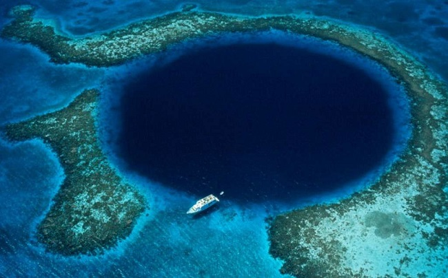 How are sinkholes formed