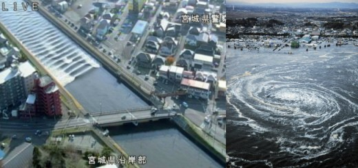 Massive Earthquake strikes Japan making people run for safety but Tsunami warning...