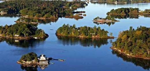 They call them the 1000 Islands and people love it, you'll be amazed to find out why