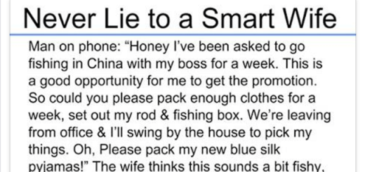 Think well before lying to smart women
