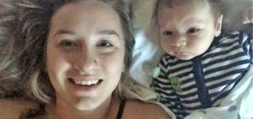 This Mom was recording a snapchat video but she was stunned with her 2-month-old baby's first word