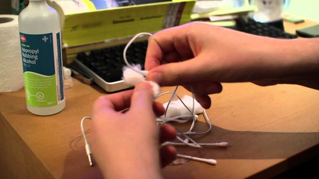 Clean your ear buds regularly