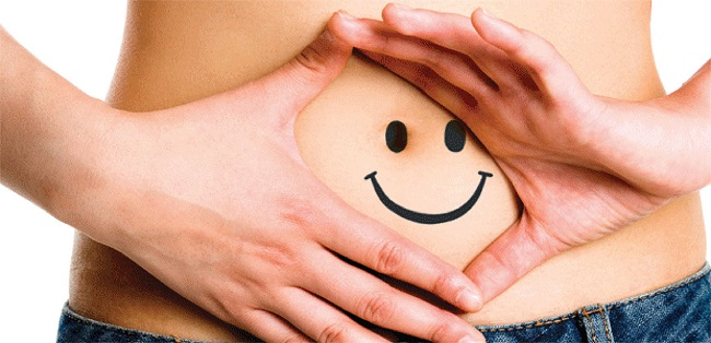 The smiling abdomen