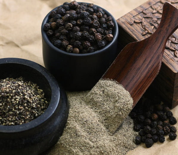 effective antibacterial and antioxidant black pepper benefits