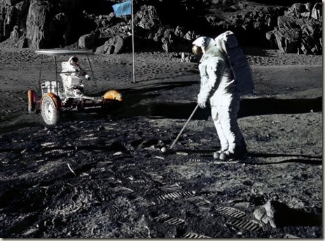 Alan Shepard played golf on the moon