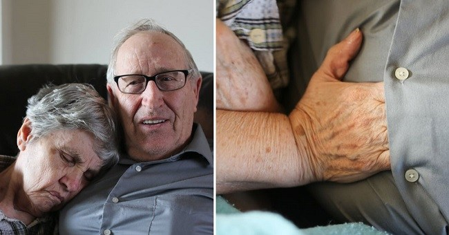 His wife liked to slip her hands under his shirt and the reason why will move you to tears