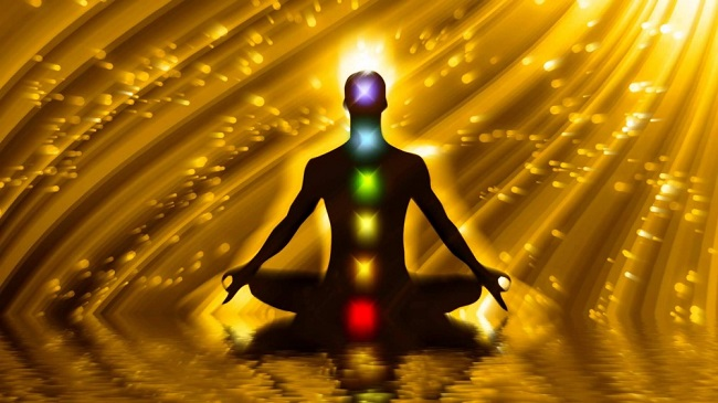 Human chakras are related to the solar spectrum