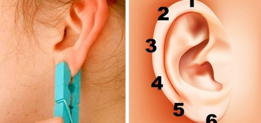 Place a clothespin on your ear for a few seconds and the effect will surprise you