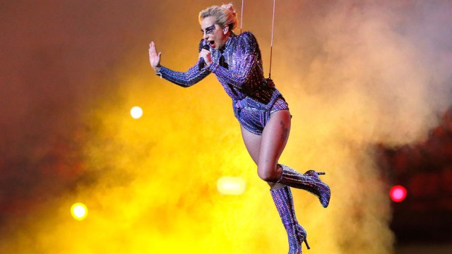 How Lady Gaga Faked Her Super Bowl Jump To Make It Seem As