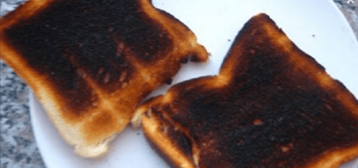 Latest food study in the UK says you shouldn't eat blacken toast as it can cause cancer