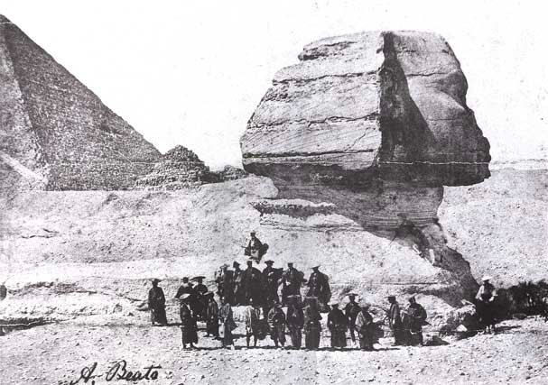 When Japanese went to see the Sphinx