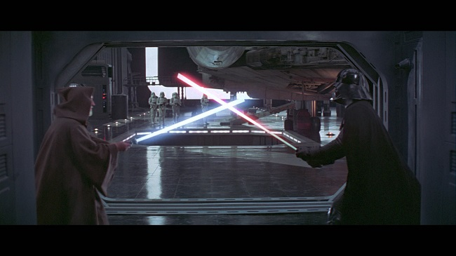 Anakin is a better fighter than Darth Vader