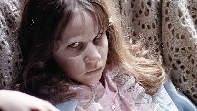 "Linda Blair – ""The Exorcist""<"