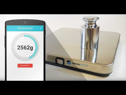 Turn your Smartphone into a digital scale