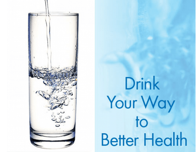 Drinking water stabilizes the body's metabolic rate
