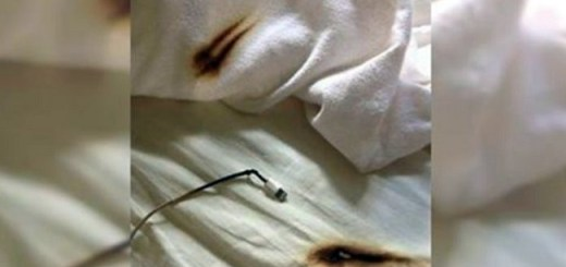 Firefighters Warn Against the Horrifying Results of Sleeping With a Charging Smartphone Placed Under Your Pillow
